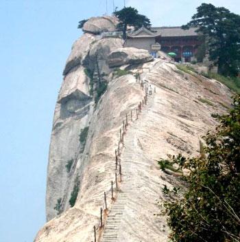 (原创)壮丽的华山: - liangshange - 一线天