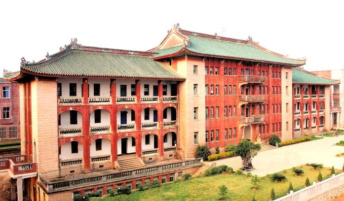 白芙蓉中学风景照